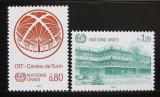Poštovní známky OSN Ženeva 1985 Centrum v Turíně Mi# 127-28