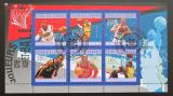 Poštovní známky Komory 2010 Basketbalové hvězdy Mi# 2865-70
