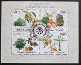 Poštovní známky Komory 2009 Tropické ovoce Mi# 2661-64