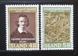 Poštovní známky Island 1963 Národní muzeum Mi# 368-69