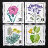 Poštovní známky Německo 1980 Divoké rostliny Mi# 1059-62
