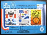 Poštovní známky Uruguay 1975 Světové výstavy Mi# Block 28 Kat 22€