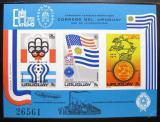 Poštovní známka Uruguay 1975 Světové výstavy neperf. Mi# Block 28 B