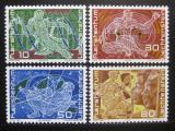 Poštovní známky Lichtenštejnsko 1969 Výročí vzniku Mi# 508-11