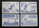 Poštovní známky Kanada 1957 Sporty Mi# 312-15