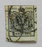 Poštovní známka Rakousko 1850 Znak Mi# 2 X Kat 90€