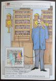 Viněta Německo 1990 Výročí pošty