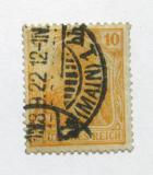Poštovní známka Německo 1920 Germania Mi# 141