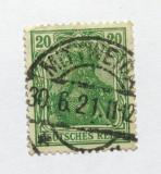 Poštovní známka Německo 1920 Germania Mi# 143