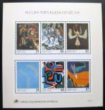 Poštovní známky Portugalsko 1989 Umění Mi# Block 68