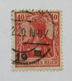 Poštovní známka Německo 1920 Germania Mi# 145