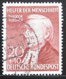 Poštovní známka Německo 1952 Theodor Fliedner Mi# 158 Kat 12€