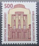 Poštovní známka Německo 1993 Státní divadlo, Cottbus Mi# 1679