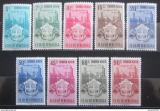Poštovní známky Venezuela 1951 Znak Carabobo, RARITA Mi# 685-93 Kat 75€