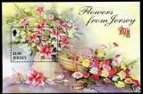 Poštovní známka Jersey 1998 Podzimní květiny Mi# Block 20