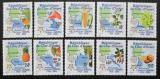 Poštovní známky Pobřeží Slonoviny 2005 Evropa CEPT Mi# 1461-70 Kat 23€