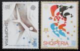 Poštovní známky Albánie 2005 Evropa CEPT Mi# 3045-46