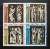 Poštovní známky DDR 1983 Sochy v katedrále Mi# 2808-11