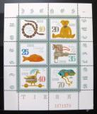 Poštovní známky DDR 1981 Historické hračky Mi# 2661-66