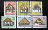Poštovní známky DDR 1981 Dřevěné domy Mi# 2623-28