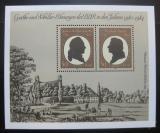 Poštovní známky DDR 1982 Cena Goethe-Schiller Mi# Block 66