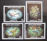 Poštovní známky Papua Nová Guinea 1986 Ptáci Mi# 525-28