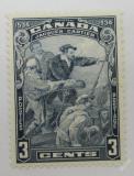 Poštovní známka Kanada 1934 Příjezd Cartiera Mi# 175