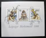 Poštovní známky DDR 1988 Lipský veletrh Mi# Block 95
