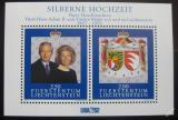 Poštovní známky Lichtenštejnsko 1992 Knížecí svatba Mi# Block 14