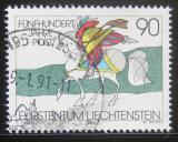 Poštovní známka Lichtenštejnsko 1990 Poštovní komunikace Mi# 1004