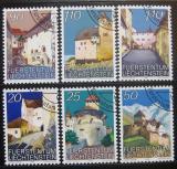 Poštovní známky Lichtenštejnsko 1986-89 Hrad Vaduz Mi# 896-98,919-20,962