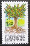 Poštovní známka Lichtenštejnsko 1993 Práce misionářů Mi# 1064