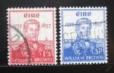 Poštovní známky Irsko 1957 Admirál William Brown Mi# 132-33 Kat 30€