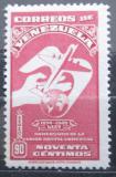 Poštovní známka Venezuela 1950 Výročí UPU Mi# 561