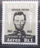 Poštovní známka Venezuela 1966 Abraham Lincoln Mi# 1667