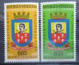Poštovní známky Venezuela 1961 San Cristóbal Mi# 1414-15