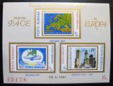 Poštovní známky Rumunsko 1981 Konference bepečnosti Mi# Block 183 Kat 20€