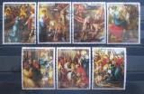 Poštovní známky Paraguay 1982 Život Krista Mi# 3568-74