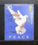 Poštovní známka Bermudy 2002 Den míru Mi# 847