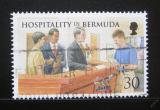 Poštovní známka Bermudy 1998 Pohostinnost Mi# 744