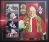 Poštovní známky Kongo 2014 Kanonizace papežů
