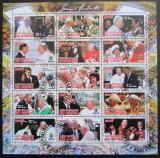 Poštovní známky Kongo 2012 Papež Jan Pavel II.
