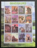 Poštovní známky Somálsko 2001 Dinosauři, prehistorie