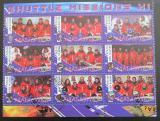 Poštovní známky Malawi 2010 Lety do vesmíru XI
