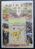 Poštovní známka Malawi 2005 Paovce hřivnatá, skauting