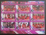 Poštovní známky Malawi 2010 Lety do vesmíru IX
