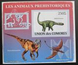 Poštovní známka Komory 2009 Malawisaurus neperf Mi# 2171 B