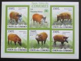 Poštovní známky Komory 2009 Štětkoun africký neperf. Mi# 2430-34 B