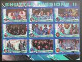 Poštovní známky Malawi 2010 Lety do vesmíru II