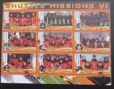 Poštovní známky Malawi 2010 Lety do vesmíru VI